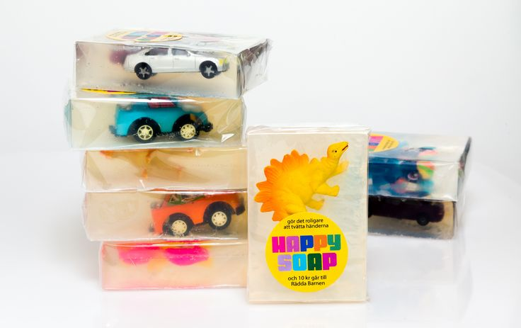 We make soap and adventure from recycled toys (and some glycerine and stuff)