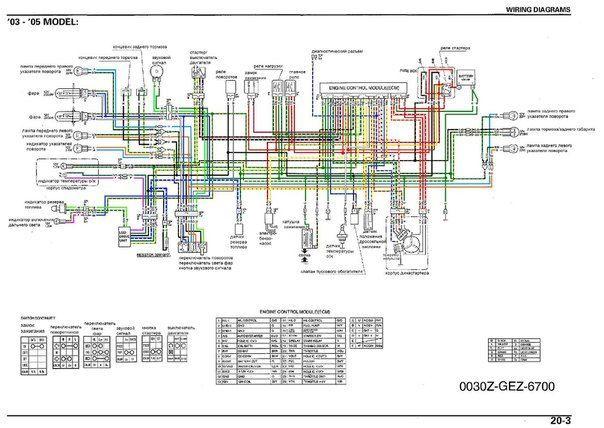 wiring diagram honda ruckus (zoomer) in 2020 | diagram, honda ruckus, honda  pinterest