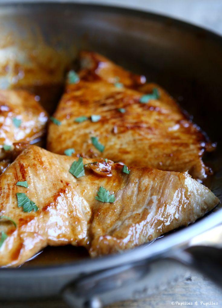 #Recette #Grillades de #porc marinées au #miel, #orange, #piment