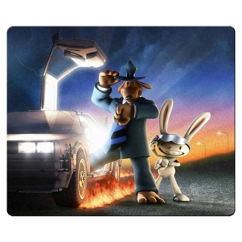 26x21cm 10x8inch gaming mouse mats accurate cloth antiskid rubber smooth surface Custom Back to the  @ niftywarehouse.com #NiftyWarehouse #BackToTheFuture #Movie #Film #Movies #Gifts