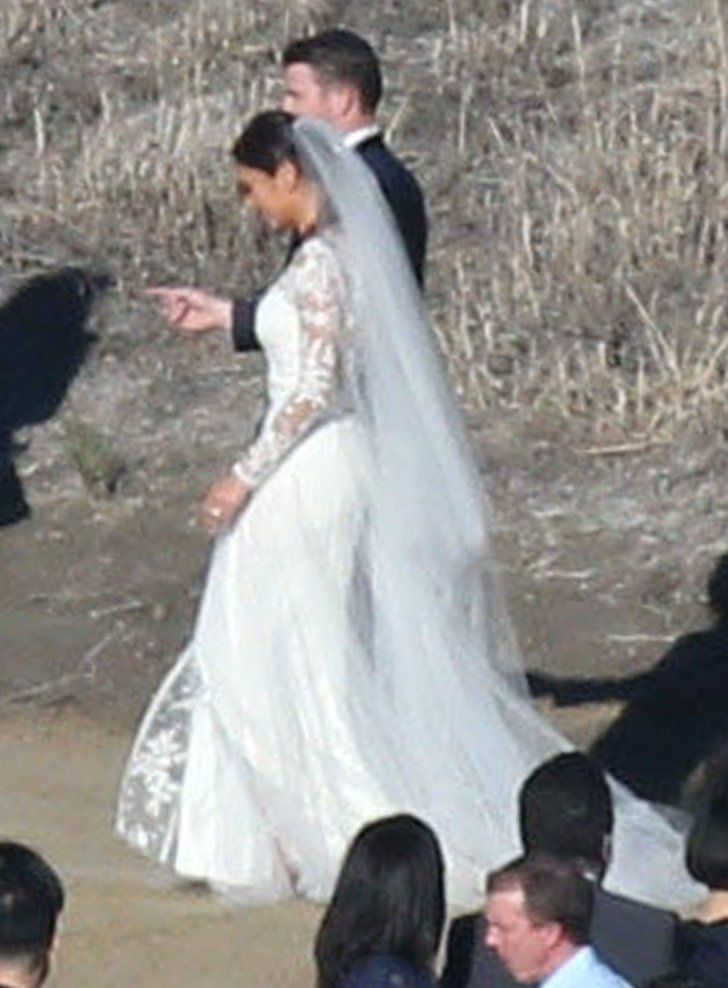 Jamie Chung's Halloween Wedding Dress Is the Opposite of What You'd Expect