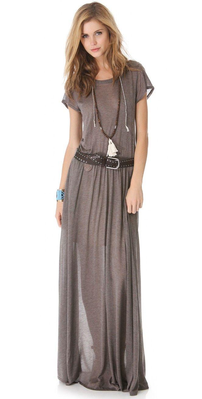 Heather Maxi Tee Dress | SHOPBOP