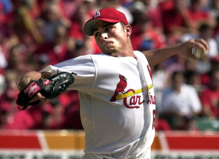 March 13, 2001 - Throwing 22 strikes out of 29 pitches over two innings of shutout ball in his surprise start against the Mets at Roger Dean Stadium, Rick Ankiel makes his first appearance since the 2000 playoffs in which he loss his control throwing seven wild pitches in three postseason appearances.