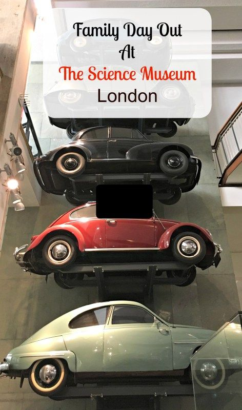 Family Outing To The Science Museum, London