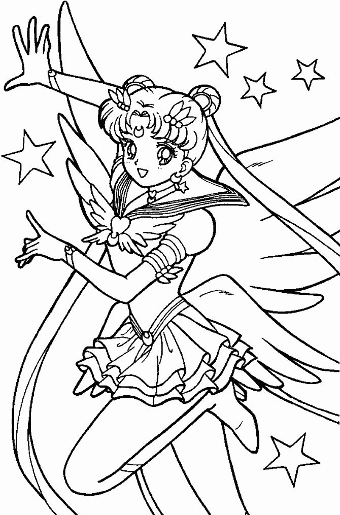 Sailor Moon Coloring Book Best Of Sailor Moon Coloring Pages On Pinterest Sailor Moons Sailor Moon Ausmalbilder