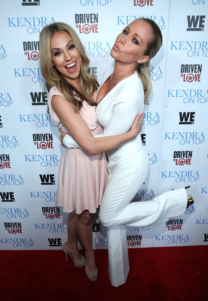 "Kendra Wilkinson Photos Photos - Actress Jessica Hall (L) and TV personality Kendra Wilkinson attend WE tv's premiere of ""Kendra On Top"" and ""Driven To Love"" at Estrella Sunset on March 31, 2016 in West Hollywood, California. - WE tv Celebrates the Premiere of 'Kendra on Top' and 'Driven To Love'"