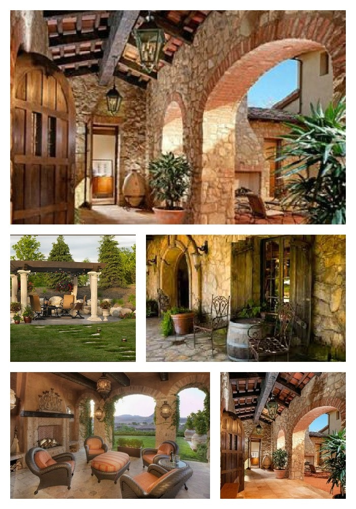 575 best tuscan style images on pinterest for Tuscan design ideas