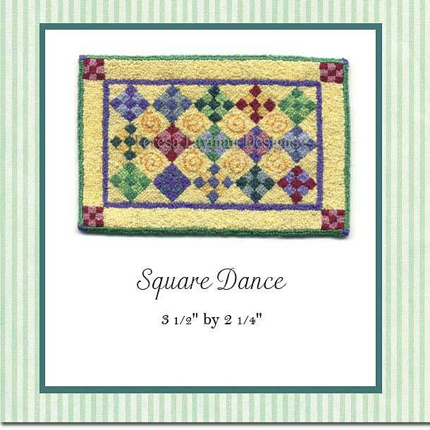French knot design by Teresa Layman 2000 French knots per square inch