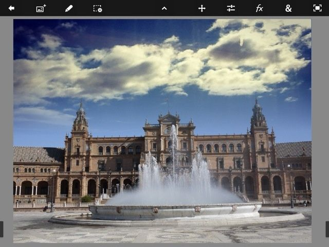 Add Dramatic Skies To Your Photos With Photoshop Touch's Fade Tool