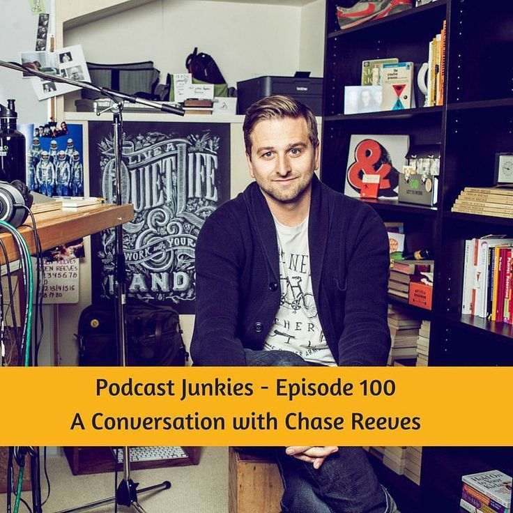 What better way to celebrate episode 100 than another conversation with Podcast Junkies guest #1 the inimitable @ChaseReeves! http://ift.tt/2a3Fckw