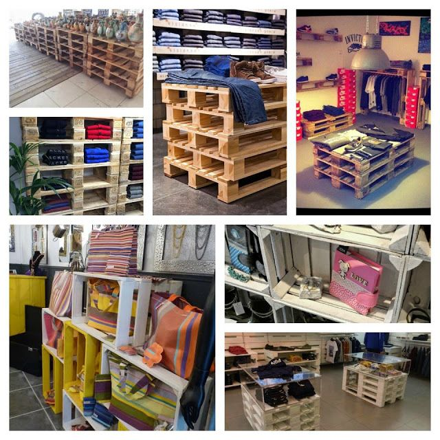 Business ideas and solutions from old crates
