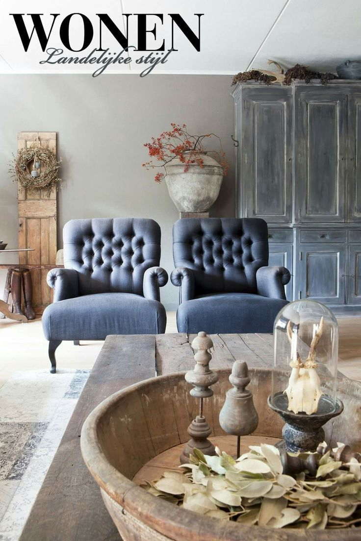 Meer dan 1000 idee n over landelijke woonkamers op pinterest huiskamer frans platteland en land - Deco land keuken ...