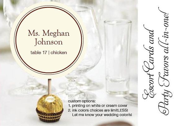 Ferrero Rocher Wedding Reception Chocolate by DesignsByDirection