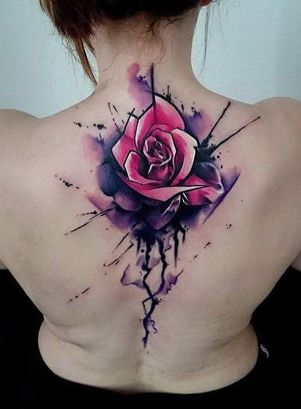 120+ Meaningful Rose Tattoo Designs | flower tattoos ...