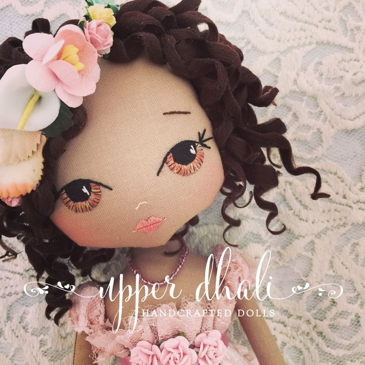 Each Upper Dhali handcrafted doll is an exquisite keepsake designed