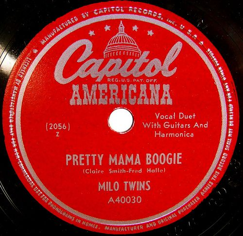 Capitol Americana Vintage Record Label In 2019 Capitol
