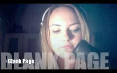Blank Page - Cover By Cat Ricketts - Pop Music Video - BEAT100