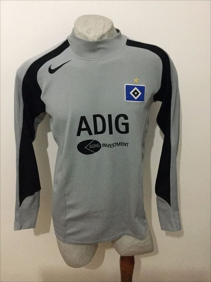 Maglia calcio nike hamburg adig trikot fussball football shirt germany vintage