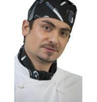 Utensils Print Chefs Hat
