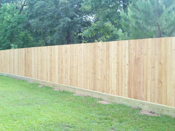 How To Build A Wood Fence On Uneven Ground Best Image