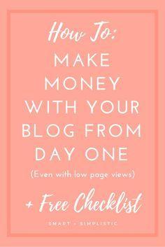 Wie man Geld verdient Bloggen von Anfang an   – How to Start a Blog