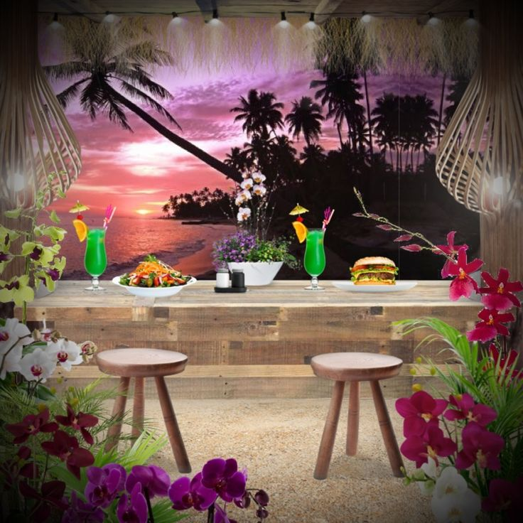 'Dinner with view #beach' created in #neybers