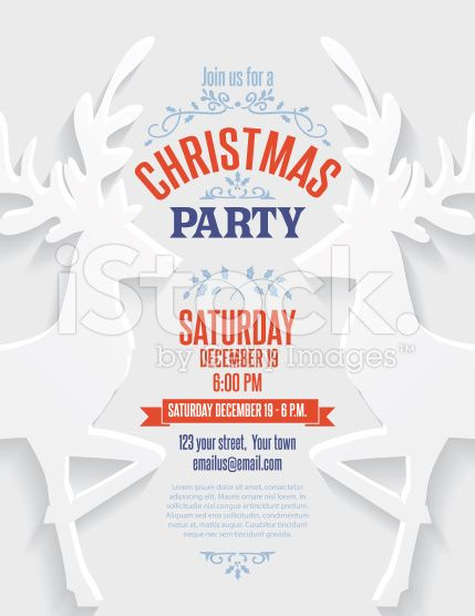 179 best christmas vector illustrations images on pinterest vector 3d cut paper christmas invitation template with gingerbread men royalty free stock vector art stopboris Choice Image