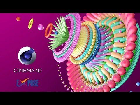 Cinema 4D Tutorial - Digital Flower Modeling for Beginner - YouTube