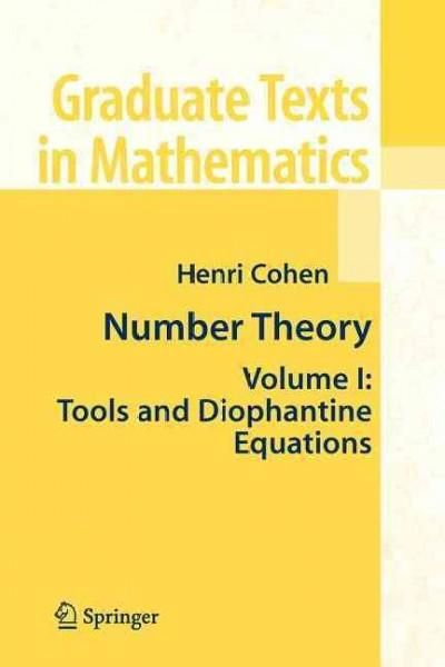Number Theory: Tools and Diophantine Equations