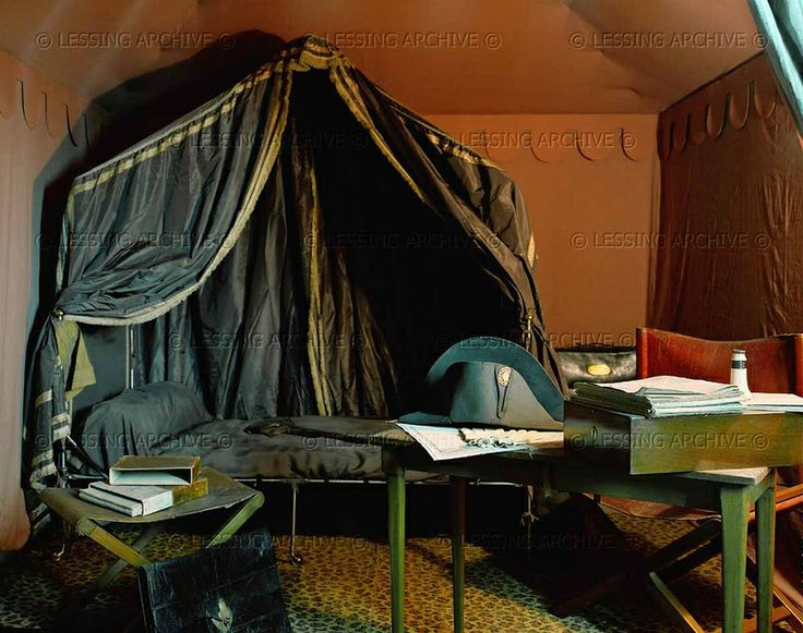 Inside Napoleon's tent | Napoleonic Army Camp | Pinterest ...