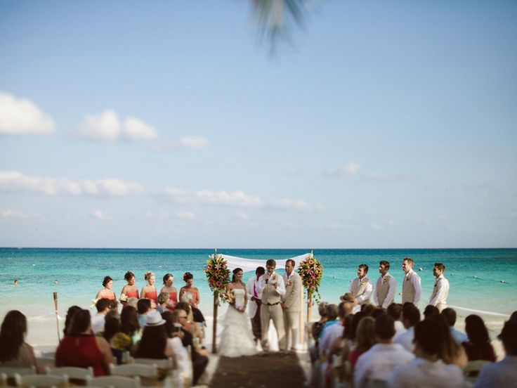 Jessica and Spencer's Mexico Destination Wedding by Natalie Champa Jennings Photography at the Hotel Catalonia Royal Beach & Spa Resort Tulum.