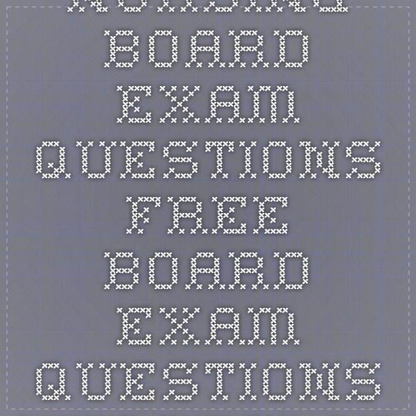 Nursing Board Exam Questions - Free Board Exam Questions - Nurseslabs