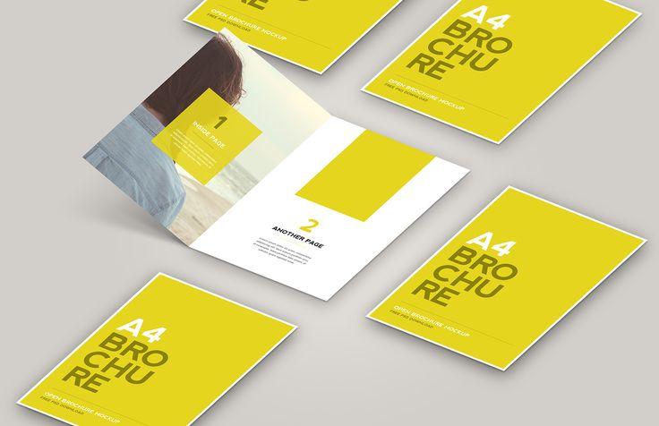 Medialoot - Open Brochure Mockup