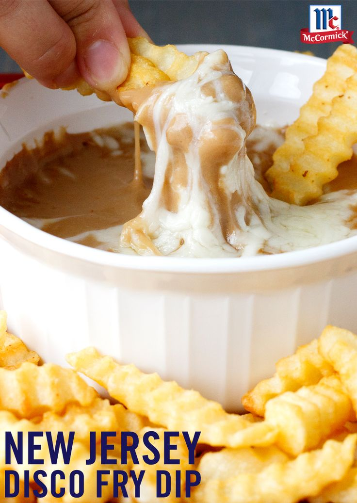 Yummy gravy that's easy and cheesy serves as a savory dipping destination for your French fries. Stir in milk, water, shredded mozzarella cheese and Brown Gravy Mix. Ready in 10 minutes, you're on your way to the ultimate snack recipe.