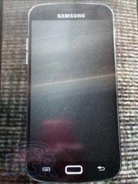Première photo du Samsung Galaxy S3