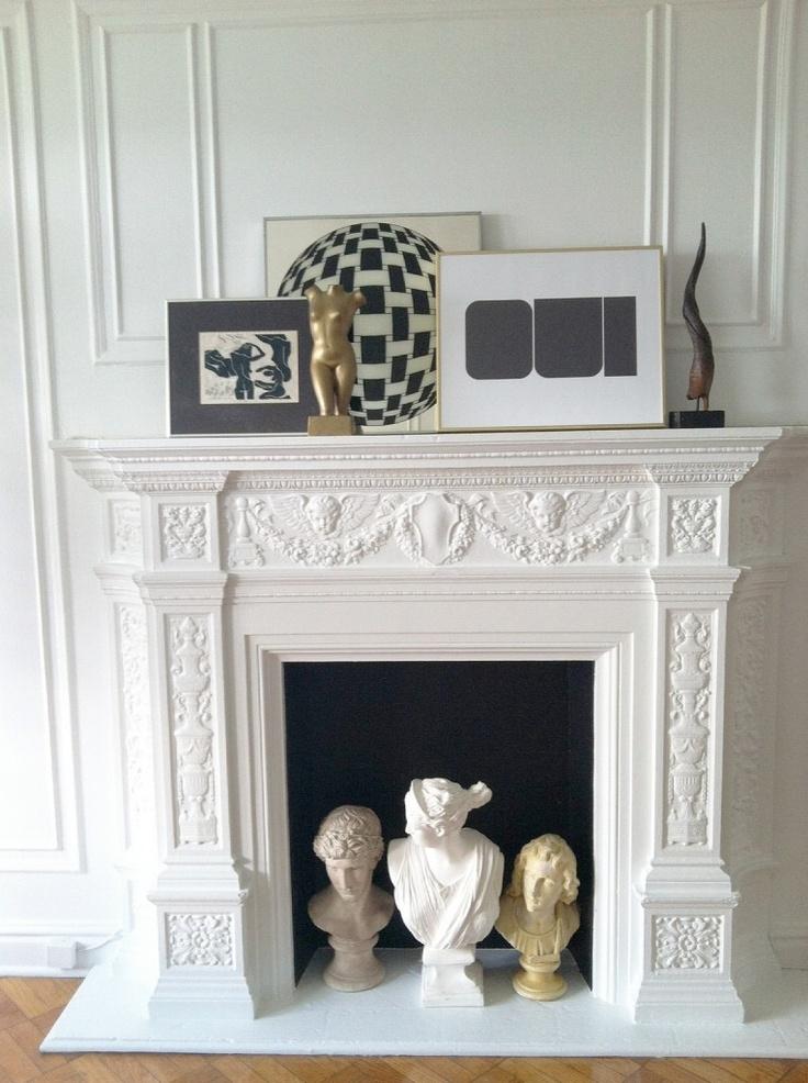 1000 Ideas About Black Fireplace On Pinterest Fireplace