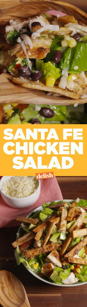 ... Santa Fe sur Pinterest | Salade, Repas 5 Minutes et Poulet De Santa Fe