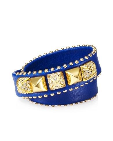 Skinny Leather Wrap Bracelet #glitterinjuicy #givemewhatIwant