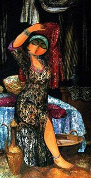 iraqi art,,, DesertRose