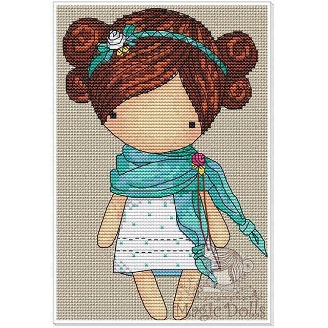 #mika__mila_katya #magic__dolls #crossstitch #вышивка  @magic__dolls  Spring 66*100 stitch, 17 DMC color, cross stitch, backstitch, cording