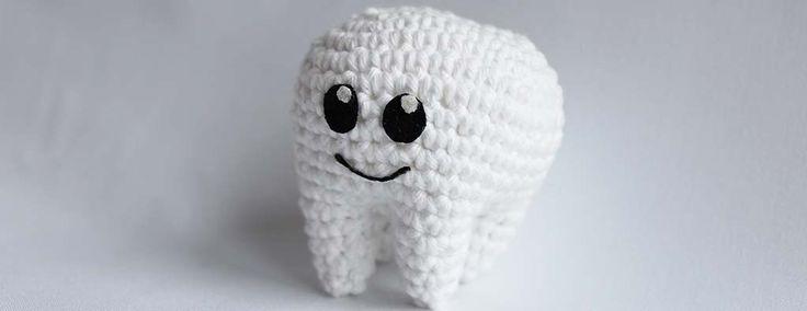 Free amigurumi tooth crochet pattern dental dentist molar