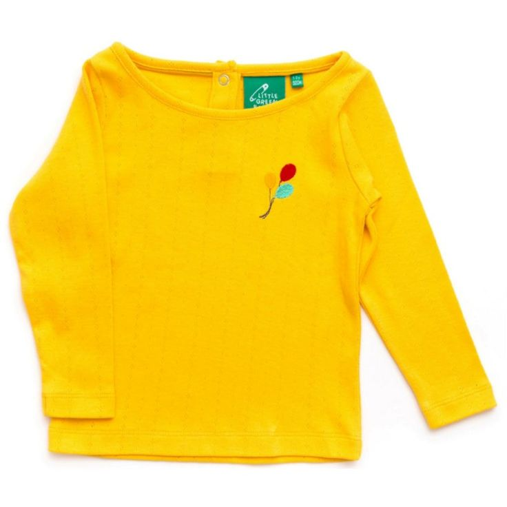 little-green-radicals-paidiki-makrimaniki-mplouza-daffodil-pointelle