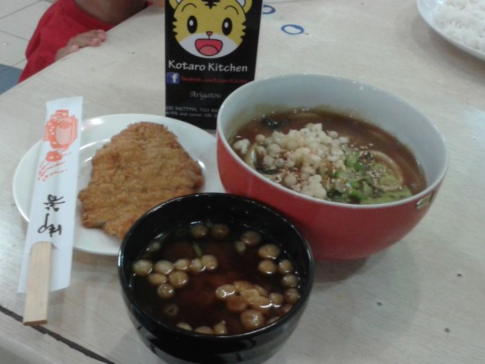 Lunch at Kotaro Kitchen in BSD city..