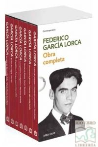 ESTUCHE OBRA COMPLETA FEDERICO GARCIA LORCA
