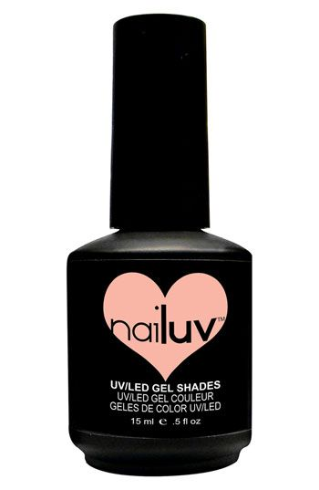NaiLuv™ 'Tickled Pink' Gel Nail Polish available at #Nordstrom