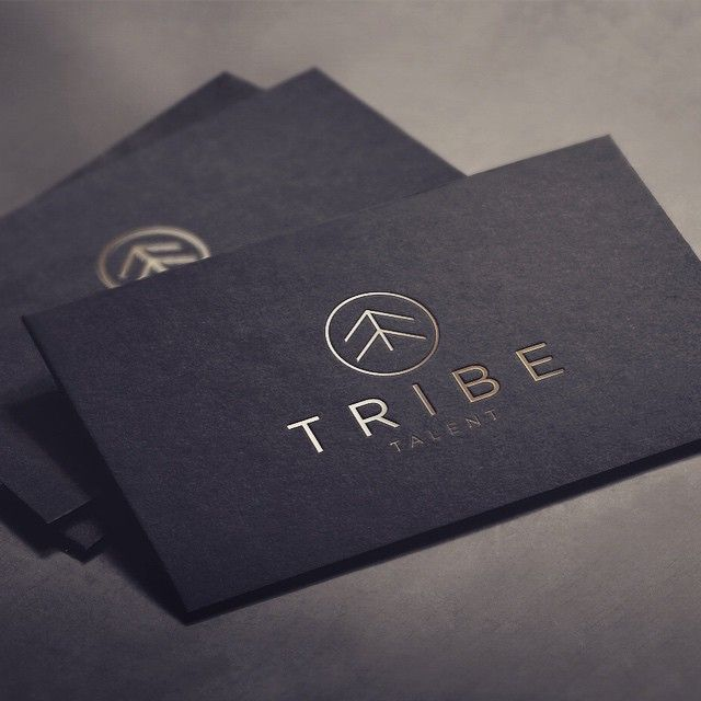 New logo design for Tribe Talent - the digital search specialists - they will find your tribe! @bcarriedaway #digital #logodesign #businesscards #branding