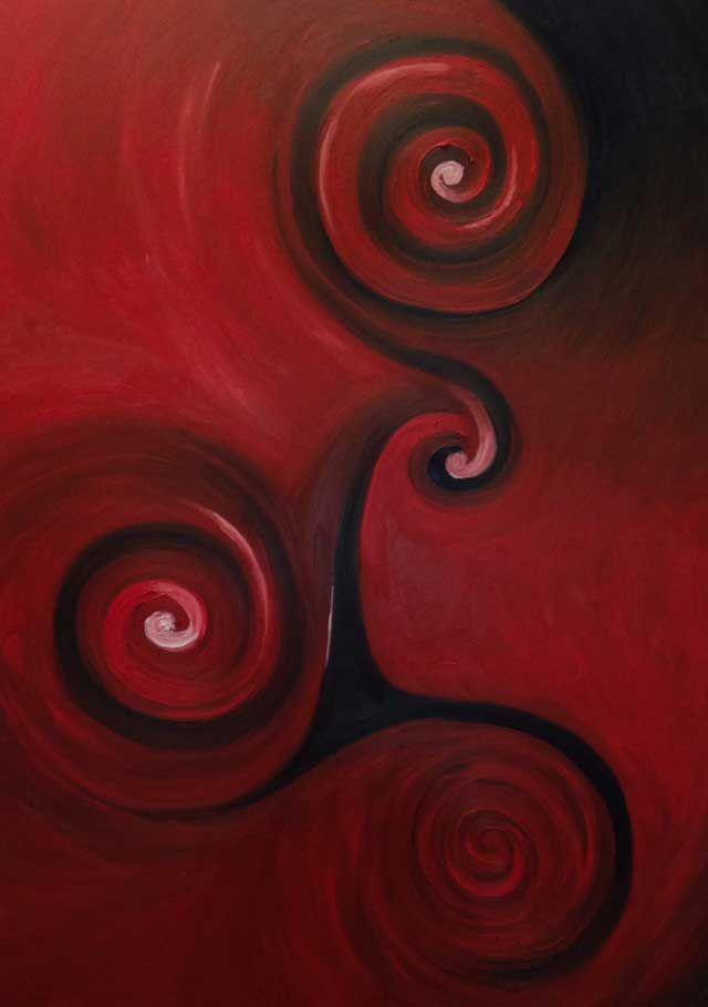 Dipinti ad olio: Galassie