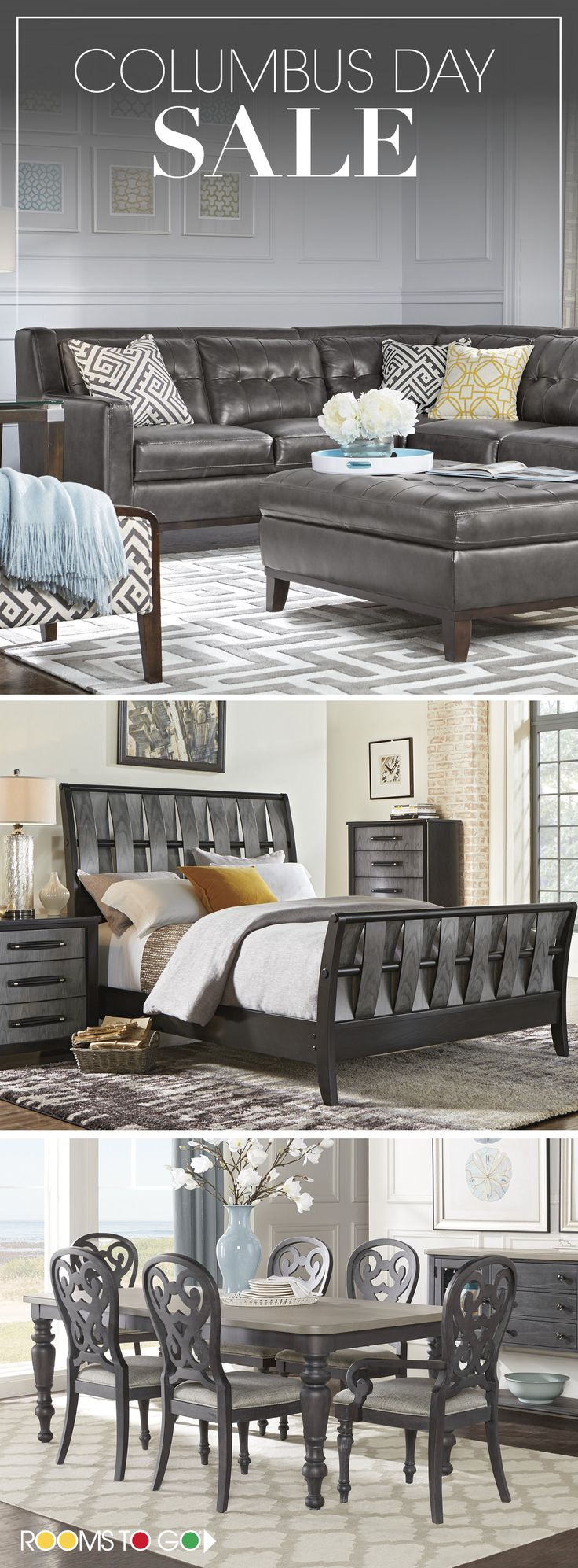 Looking For The Best Furniture Deals? Visit Rooms To Go Now, And Save On ·  Furniture DealsBest FurnitureTraditional DecorColumbus Day SaleAbandoned ...