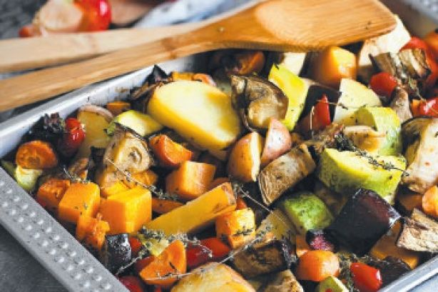 Perfect roast veges