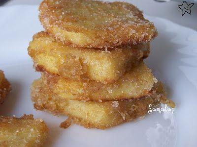 Cocina Fácil Sin Gluten: LECHE FRITA